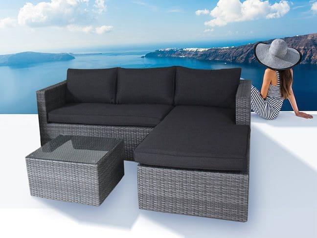 polyrattan gartenm bel polyrattan sofas polyrattan terrassenm bel polyrattan gartenlounge. Black Bedroom Furniture Sets. Home Design Ideas